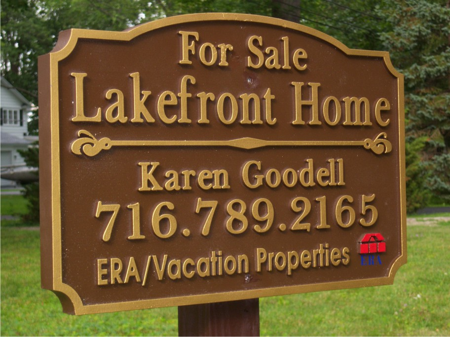 For sale lakefront home